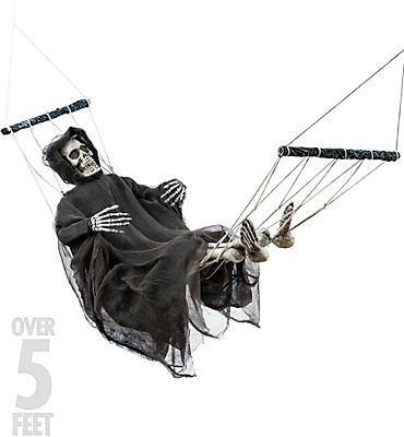 Hanging Lazy Bones Skeleton