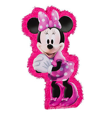Hot Pink Minnie Mouse Pinata