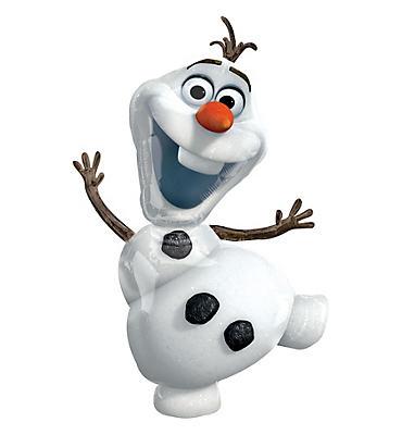 Olaf Balloon - Giant Frozen