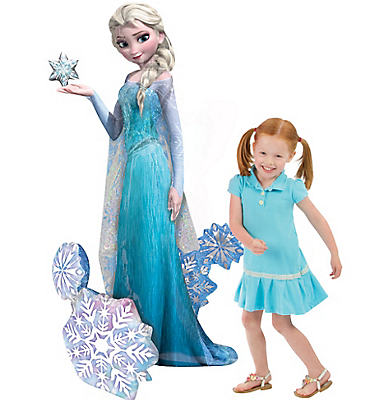Frozen Elsa Balloon - Giant Gliding