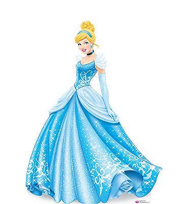 Cinderella Life-Size Cardboard Cutout