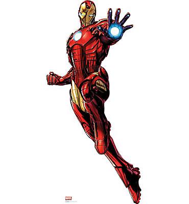 Iron Man Life-Size Cardboard Cutout - Avengers