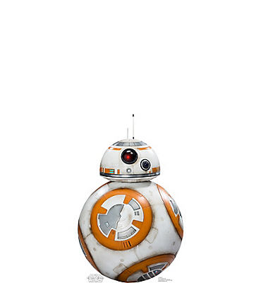 BB-8 Life Size Cardboard Cutout - Star Wars 7 The Force Awakens