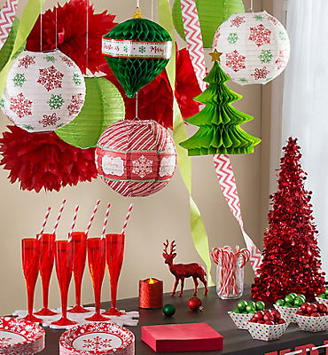 Christmas party themes christmas themes party city for 12 days of christmas decoration theme