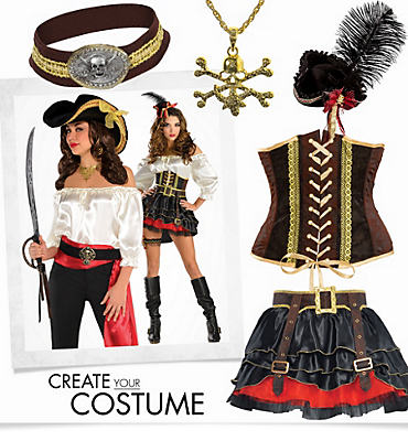 Women's Swashbuckling Sass Pirate