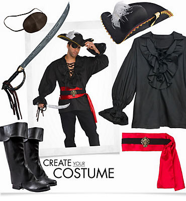 Men's Pirate Captain