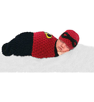 Baby Crochet Cocoon The Incredibles Costume