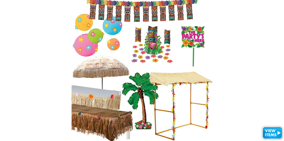 Luau Decorations Party City Canada