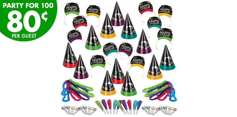 Kit For 100 - Simply Stated New Years Party Kit