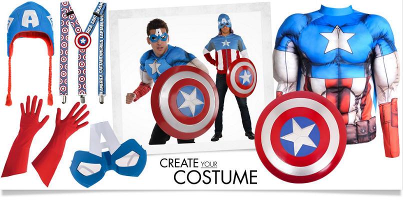 Men's Captain America