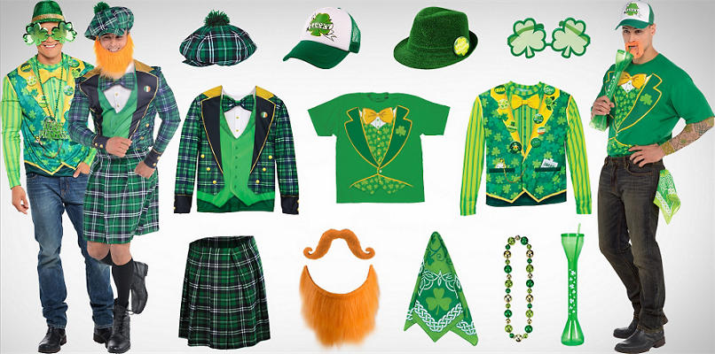 Men's St. Patrick's Day Wearables