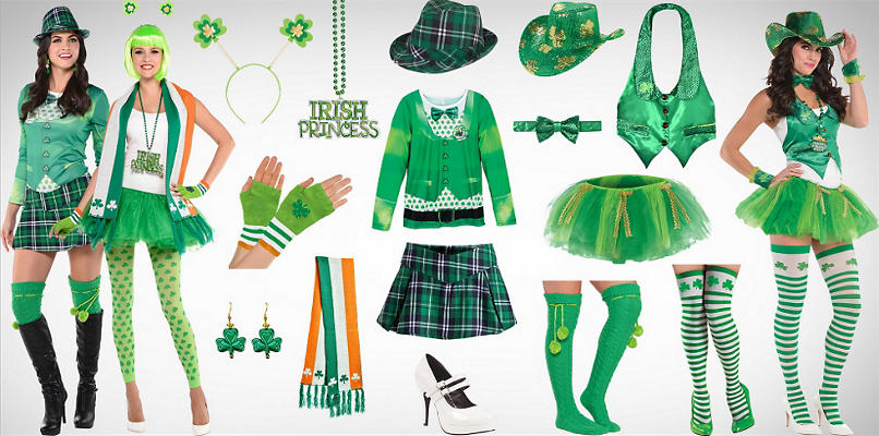 Women's Sassy St. Patrick's Day Wearables