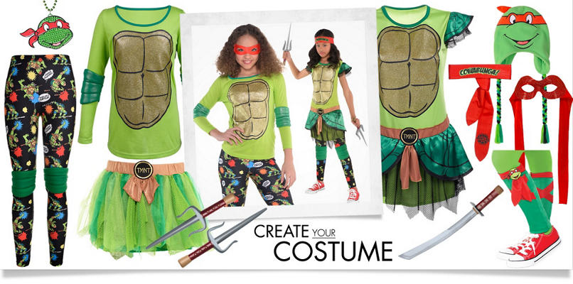 Girls' Sporty Teenage Mutant Ninja Turtles