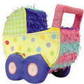 Baby Carriage Pinata 10in