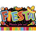 Fiesta Fun Invitations 8ct
