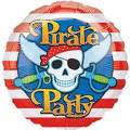 Foil Pirate's Treasure Birthday Balloon 18in