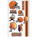 Cleveland Browns Tattoos 10ct
