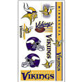 Minnesota Vikings Tattoos 10ct