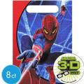 Spiderman Favor Bags 8ct