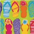 Flip Flop Lunch Napkins 16ct