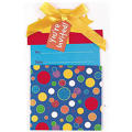 Polka Dot Present Jumbo Invitations 8ct