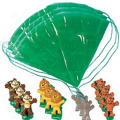 Zoo Animal Paratroopers 12ct