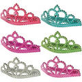 Metallic Colored Tiaras 6ct