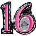 Sweet Sixteen Foil Balloon 28in