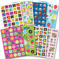 Fun Mix Mega Stickers Value Pack 8 Sheets