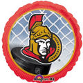 Foil Ottawa Senators Balloon 18in