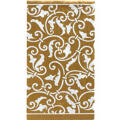 Gold Ornamental Scroll Hand Towels 16ct