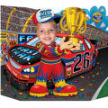 Race Car Driver Photo Prop 25in x 37in