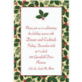 Holiday Treasures Custom Christmas Invitation