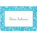 Caribbean Ornamental Scroll Custom Thank You Note