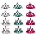 Rocker Girl Mini Tiaras 12ct