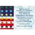 Abstract Flag Custom Invitation