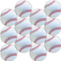 Glitter Baseball Stickers 12ct