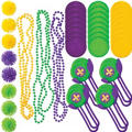 Mardi Gras Throws Mega Value Pack 48ct<span class=messagesale><br><b>21¢ per piece!</b></br></span>