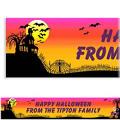 Halloween Friends Halloween Custom Banner