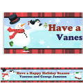 Holiday Fun Custom Christmas Banner