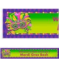Masquerade Custom Mardi Gras Banner