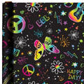 Neon Birthday Gift Wrap