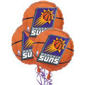Phoenix Suns Balloons 18in 3ct