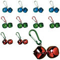 Jingle Bell Backpack Clips 24ct <span class=messagesale><br><b>49¢ per piece!</b></br></span>