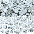 Silver Dots Confetti 2 1/2oz