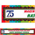 A Year to Celebrate 75 Custom Banner 6ft