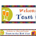 Bright New Year Custom Banner 6ft