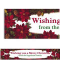 Holiday Enchantment Custom Christmas Banner