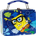 SpongeBob Metal Mini Lunch Box 5 1/2in x 4in
