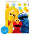 Sesame Street Loot Bags 8ct